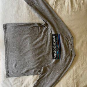 Men's Patagonia P-6 Logo Long Sleeve Shirt